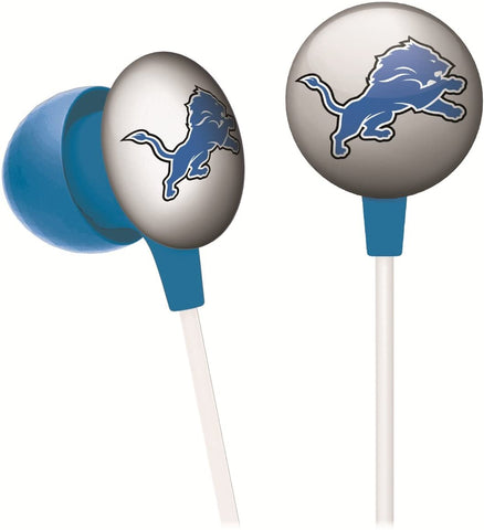 DETROIT LIONS iHip Noise-Isolating Earphones With Microphone