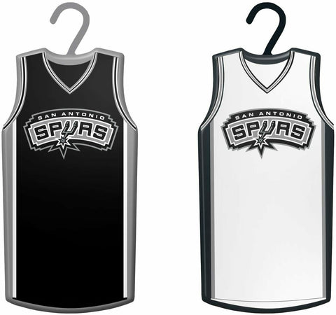 SAN ANTONIO SPURS NBA Home & Away Jersey Christmas Ornament 2-Pack