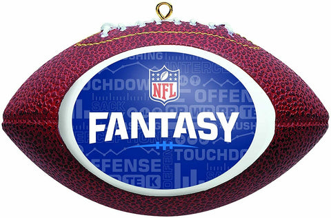 NFL Fantasy Football League Replica Football Christmas Ornament