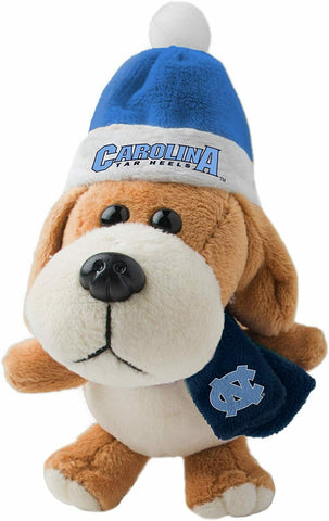 NORTH CAROLINA TAR HEELS NCAA 4 inch Plush Dog Christmas Ornament