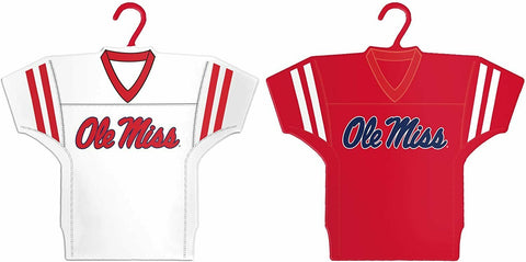 OLE MISS REBELS NCAA Home & Away Jersey Christmas Ornament 2-Pack