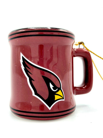 ARIZONA CARDINALS NFL Ceramic Mini Mug Christmas Ornament