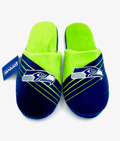 SEATTLE SEAHAWKS NFL Cushioned House Slippers, XL