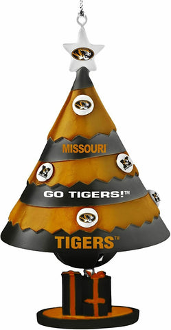 MISSOURI TIGERS NCAA Tree Bell Ornament