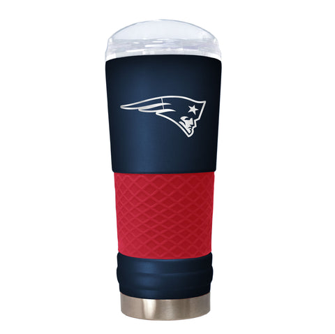 NEW ENGLAND PATRIOTS NFL Laser Etched Stainless Steel Hot&Cold Tumbler, 18oz