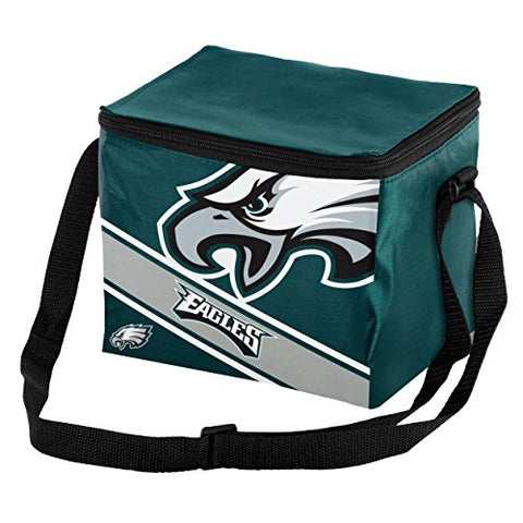 PHILADELPHIA EAGLES Big Logo Insulated Lunch Bag , 6 Pack Cooler with Strap