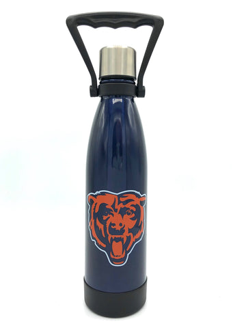 CHICAGO BEARS Stainless Steel Ultra Water Bottle - Coffee Tumbler, 17 Oz