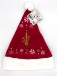 CLEVELAND CAVALIERS NBA Full Embroidered Snowflake Santa Hat