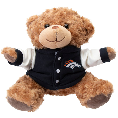 DENVER BRONCOS Varsity Jacket Plush Teddy Bear