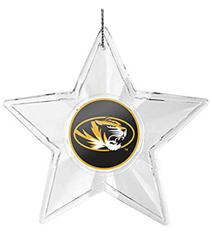 MISSOURI TIGERS NCAA Acrylic Star Christmas Ornament