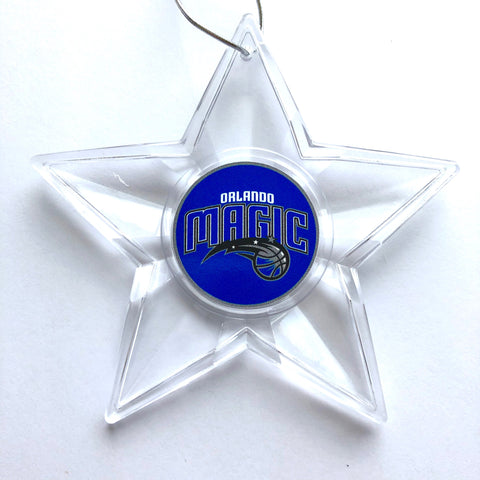 ORLANDO MAGIC NBA Traditional Acrylic Star Christmas Ornament