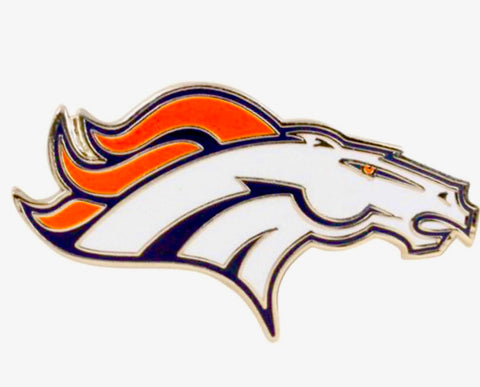DENVER BRONCOS NFL Logo Lapel Pin