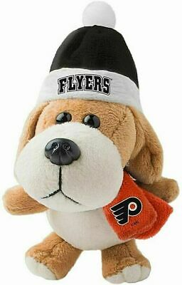 PHILADELPHIA FLYERS NHL 4 inch Plush Dog Christmas Ornament