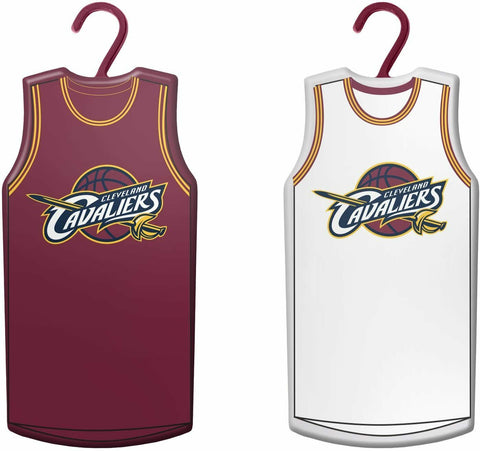 CLEVELAND CAVALIERS NBA Home & Away Jersey Christmas Ornament 2-Pack