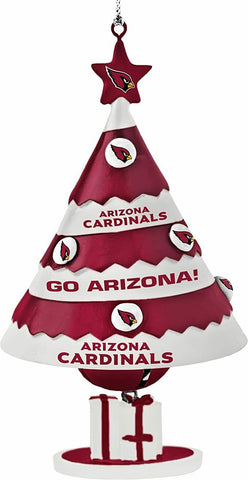 ARIZONA CARDINALS NFL Tree Bell Christmas Ornament