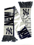NEW YORK YANKEES MLB Big Logo Double Sided Scarf