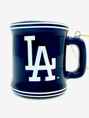 LOS ANGELES DODGERS MLB Ceramic Mini Mug Christmas Ornament