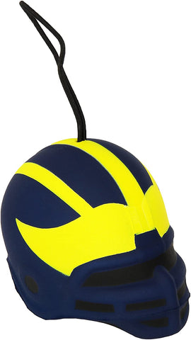 MICHIGAN WOLVERINES NCAA Soft Squish Helmet Ornament