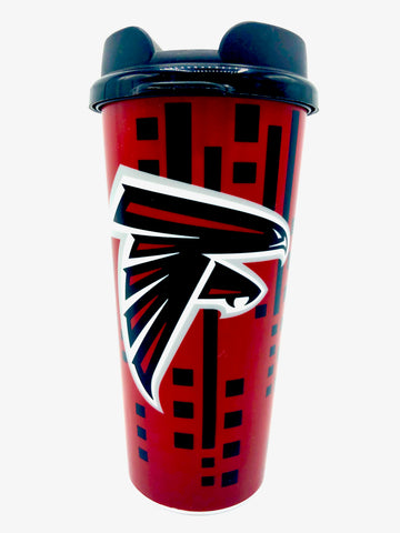 ATLANTA FALCONS NFL Insulated Acrylic Travel Tumbler, 16oz