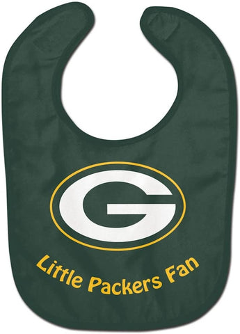 "GREEN BAY PACKERS NFL All Pro ""Little Fan"" Baby Bib"