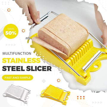 50% OFF-Multifunction Stainless Steel Slicer-Buy 2 Free Shipping