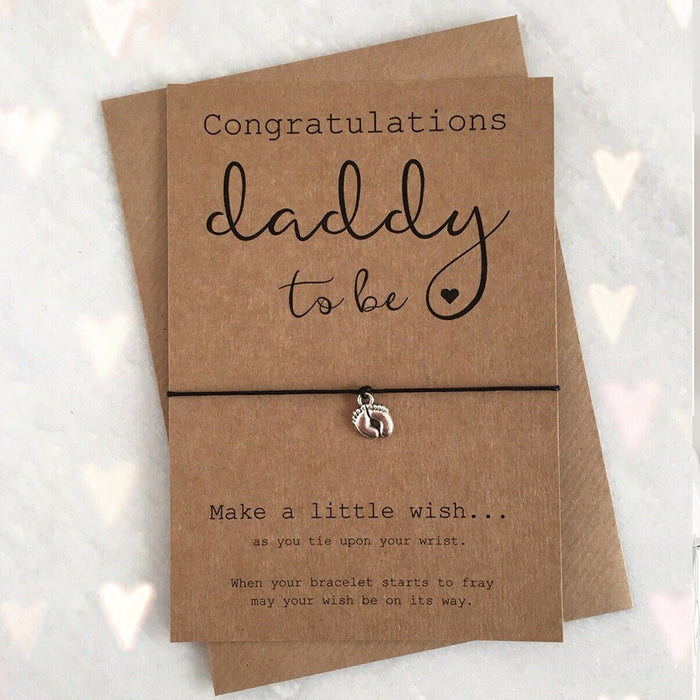 Daddy Dad To Be Congratulations Charm