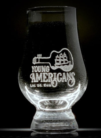 Young Americans Commemorative Mini-Glencairn Glass