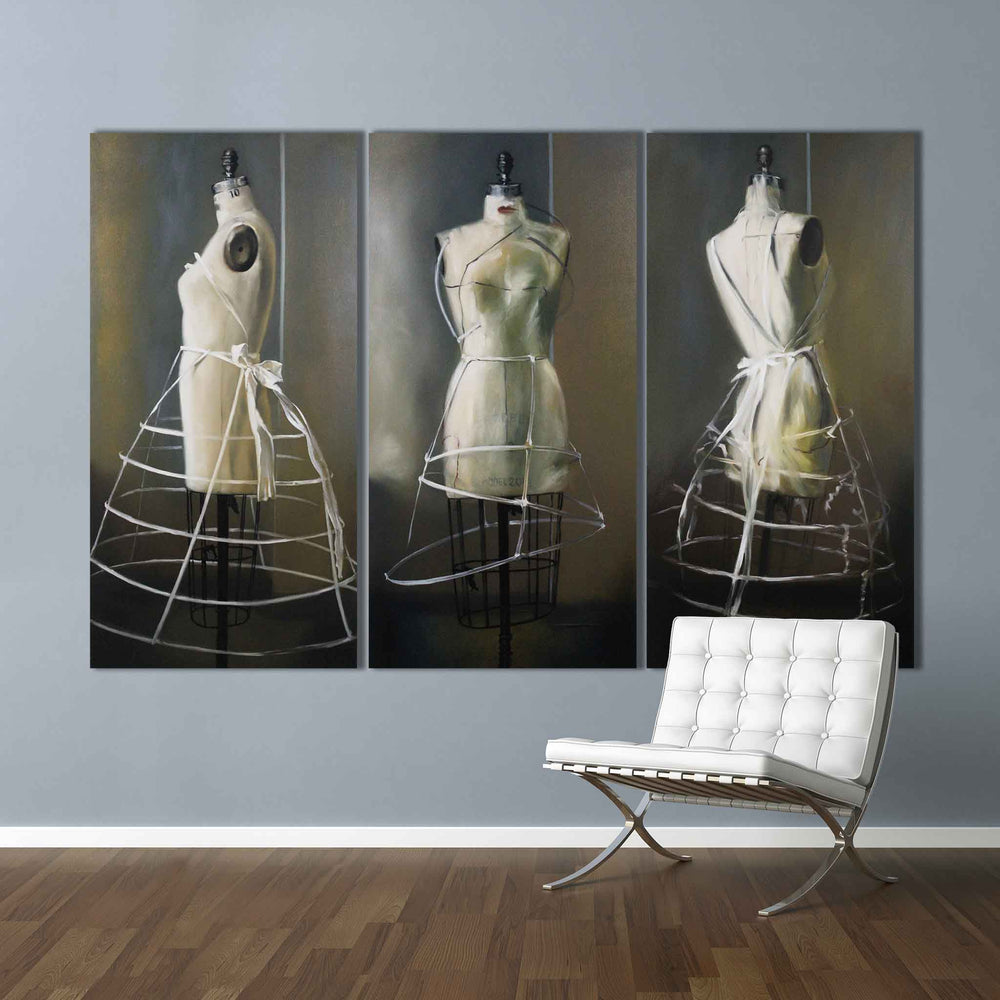 Load image into Gallery viewer, 3 GRACES Triptych