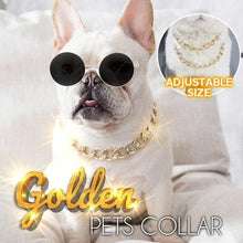 Load image into Gallery viewer, Golden Pets Collar