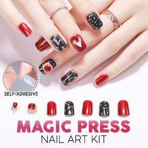 Magic Press Nail Art Kit (24Pcs)