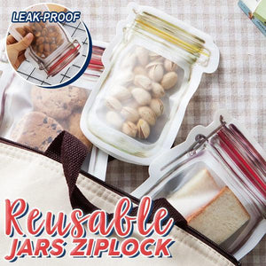 Reusable Jar Ziplock (Set Of 6)