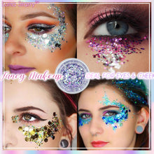 Load image into Gallery viewer, Luna Starry™  Ultra-Sparkle Makeup Glitter