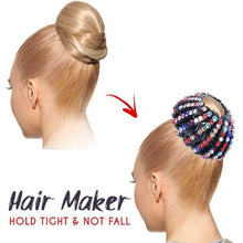 Load image into Gallery viewer, Starry Hair Jewelled Clips