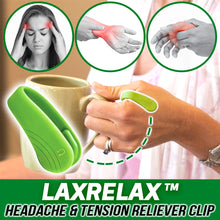 Load image into Gallery viewer, LaxRelax™ Headache & Tension Reliever Clip