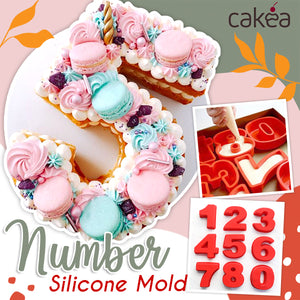 Cakea™ Number Silicone Mold