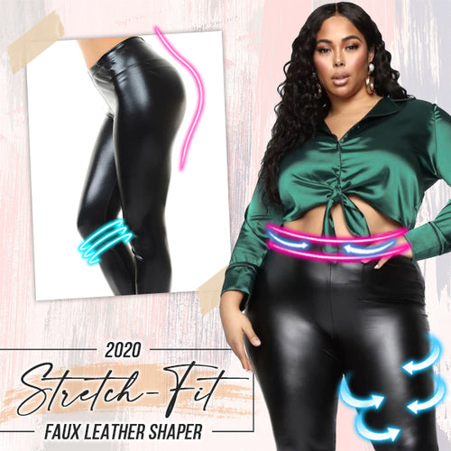 2020 Stretch-Fit Faux Leather Shaper