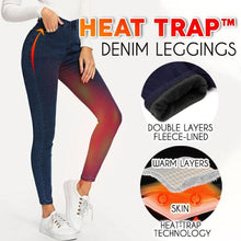 Load image into Gallery viewer, Heat Trap™ Denim Leggings