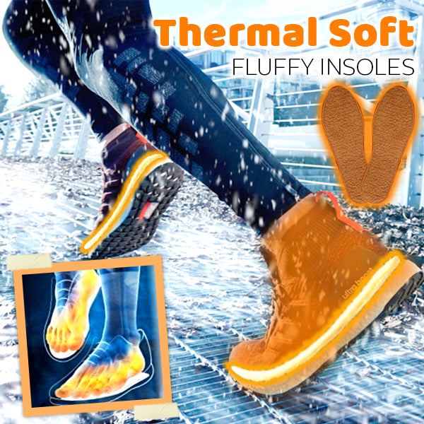 Thermal Soft Fluffy Insoles