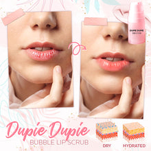 Load image into Gallery viewer, Dupie Dupie Bubble Lip Scrub