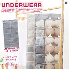 Load image into Gallery viewer, Underwear Hanging Closet Organizer