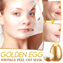 Load image into Gallery viewer, Golden Egg Wrinkle Peel-Off Mask