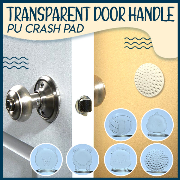 Transparent Door Handle PU Crash Pad