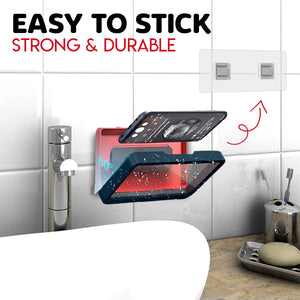 Wall-Mounted Bathroom Sealed Phone Holder