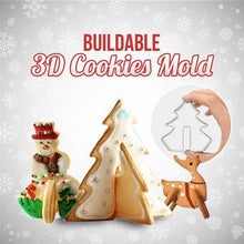 Load image into Gallery viewer, Buildable 3D Cookies Mold