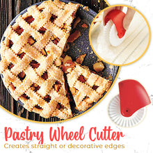 Load image into Gallery viewer, Pastry Wheel Decorating Cutter Set