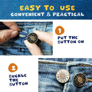 Jeans Retractable Button (5PCS)