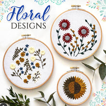 Load image into Gallery viewer, Floret Garden Embroidery Kit
