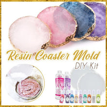 Load image into Gallery viewer, Crystal Resin Coaster DIY Kit