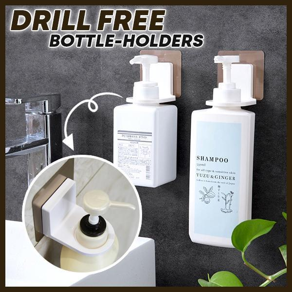 Drill Free Bottle-Holders