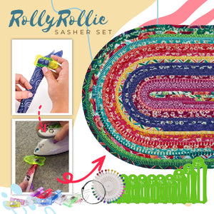 RollyRollie Sasher Set (30 Free Pinning Clips)